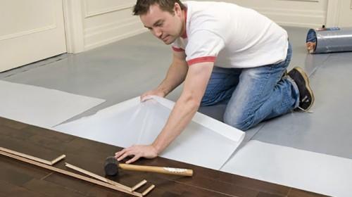 Quy trình lắp đặt và sửa chữa sàn gỗ