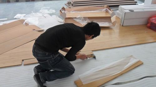 Thi công sàn gỗ gồm những gì?