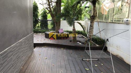 Thi công sàn tre ngoài trời Bamboo Ali tại KĐT Gamuda - Hà Nội