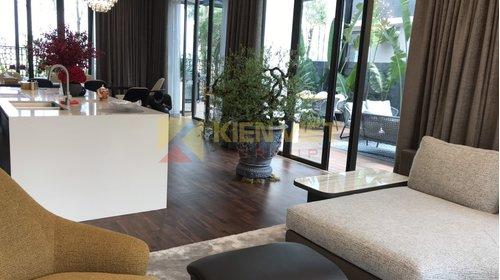 Hoàn thiện sàn gỗ nội, ngoại thất cho Biệt thự ở KĐT StarLake Tây Hồ Tây - Hà Nội