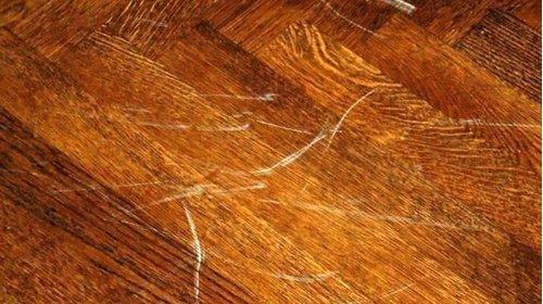6 cách xử lý sàn gỗ công nghiệp bị xước và làm mới hiệu quả