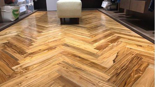 Quy trình thi công sàn gỗ xương cá đẹp 2021