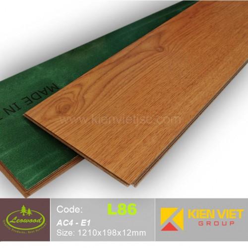 Sàn gỗ công nghiệp Thái lan Leowood L86 | 12mm