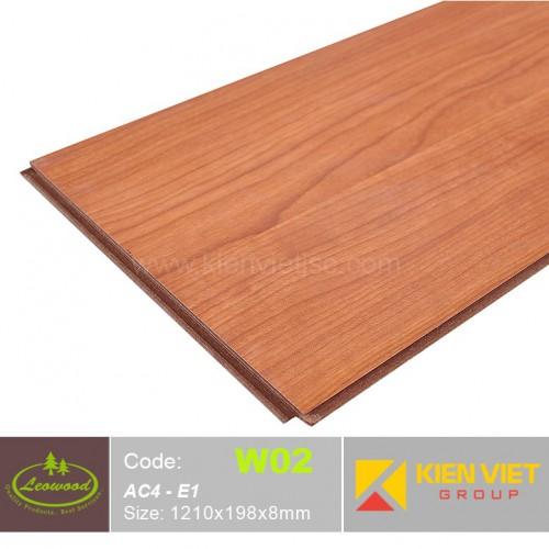 Sàn gỗ công nghiệp Thái lan Leowood W02 AC4 | 8mm