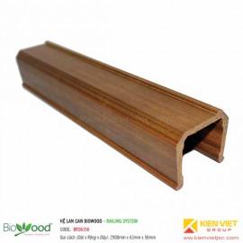 Thanh đáy lan can 63x56mm Biowood BR06356