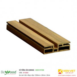 Khung cửa 100x30mm Biowood DF10030