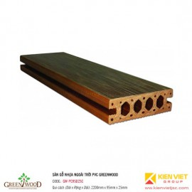 Sàn gỗ ngoài trời PVC Greenwood | GW-PC95D25C