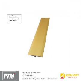 Nẹp sàn nhựa PTM | MS20-CN