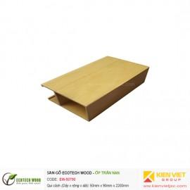 Trang trí nội thất ốp trần nan Ecotech Wood | EW-50T90