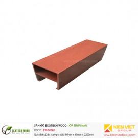 Trang trí nội thất ốp trần nan Ecotech Wood | EW-50T60