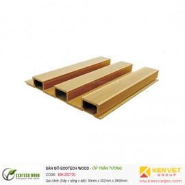 Trang trí nội thất tấm ốp trần tường Ecotech Wood   EW-202T30