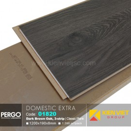 Sàn gỗ Pergo Domestic Extra 01820 | 8mm