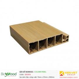 Vật liệu ốp cột 275x75mm Biowood CP27575
