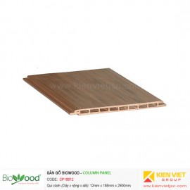 Thanh ốp cột 188x12mm Biowood CP18812