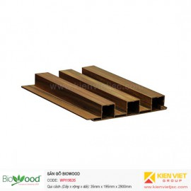 Ốp tường gỗ 195x35mm Biowood WPI19535 Ba sóng