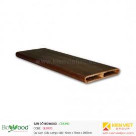 Gỗ ốp trần, tường 70x10mm Biowood CL07010