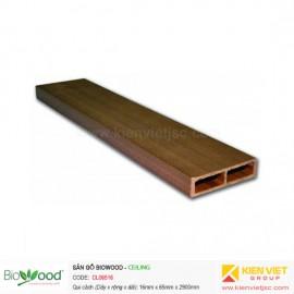 Gỗ ốp trần, tường 65x16mm Biowood CL06516