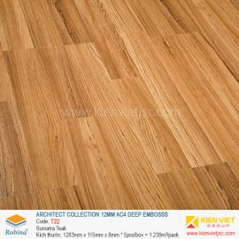 Sàn gỗ Robina architect collection T22 Sumatra Teak | 12mm
