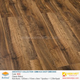 Sàn gỗ Robina architect collection W25 Classic Walnut | 12mm