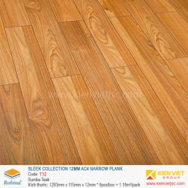 Sàn gỗ Robina Sleek Collection T12 Sumba Teak | 12mm