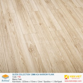 Sàn gỗ Robina Sleek Collection T18 Malmo Teak | 12mm