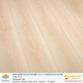 Sàn gỗ Robina Avant-Garde Collection O117 Whitewash Oak | 8mm
