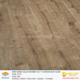 Sàn gỗ Robina Avant-Garde Collection O118 Exotic Oak | 8mm
