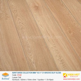 Sàn gỗ Robina Avant-Garde Collection O122 Lussac Oak | 8mm