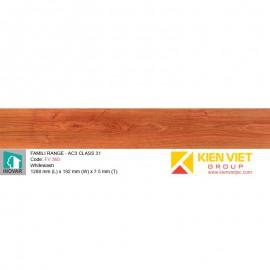 Sàn gỗ Inovar Famili Range FV330 Planked Oak   7.5mm