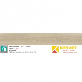 Sàn gỗ Inovar Famili Range FV360 Whitewash   7.5mm