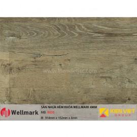 Sàn nhựa hèm khóa WELLMARK 8035   4mm