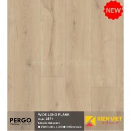 Sàn gỗ Pergo Wide Long Blank 3571   9.5mm