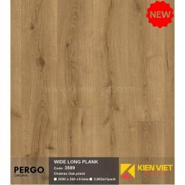 Sàn gỗ Pergo Wide Long Blank 3589   9.5mm