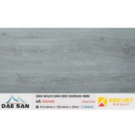Sàn nhựa dán keo DAESAN DSW302 | 3mm