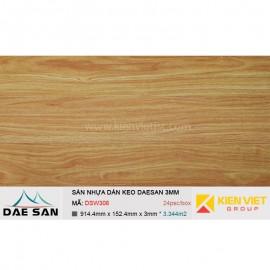 Sàn nhựa dán keo DAESAN DSW306 | 3mm