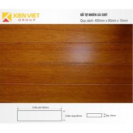 Sàn gỗ tự nhiên Cà chít 450x15mm