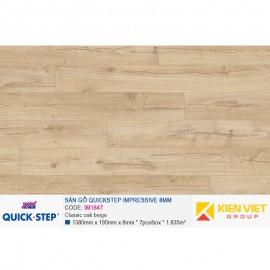 Sàn gỗ Quickstep Impressive IM1847 | 8mm