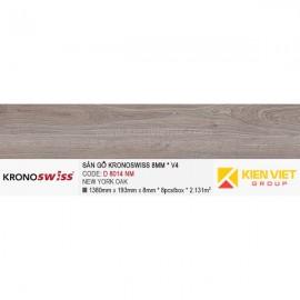 Sàn gỗ Kronoswiss D8014NM New york oak | 8mm V4