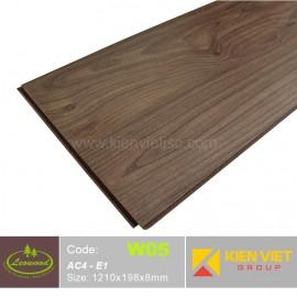 Sàn gỗ công nghiệp Thái lan Leowood W05 AC4 | 8mm