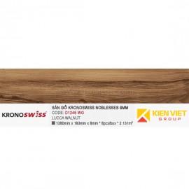 Sàn gỗ Kronoswiss D1245WG LUCCA WALNUT | 8mm