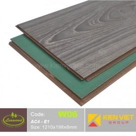 Sàn gỗ công nghiệp Thái lan Leowood W06 AC4 | 8mm