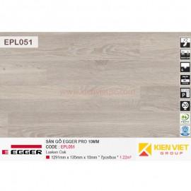 Sàn gỗ Egger Pro EPL051 White Corton Oak | 10mm