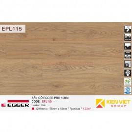 Sàn gỗ Egger Pro EPL115 Natural Starwell Oak | 10mm
