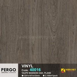 Sàn nhựa hèm khoá Pergo 40016 | 4.5mm