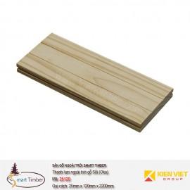 Ván sàn ngoài trời Smart Timber Sồi (Oak) 25120