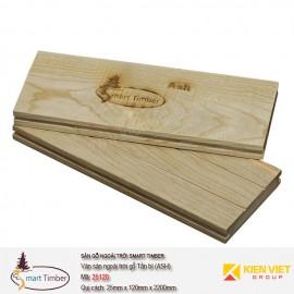 Ván sàn ngoài trời Smart Timber Tần bì (Ash) 25120