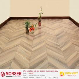 Sàn gỗ công nghiệp xương cá Morser XK143 | 8mm