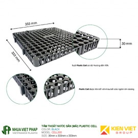 Vỉ thoát nước Plastic Cell Việt Pháp | 330x330x30mm