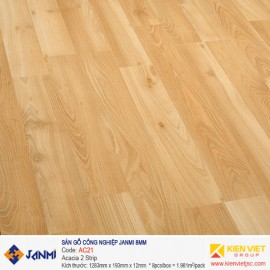 Sàn gỗ Janmi AC21 Acacia 2 Strip | 8mm