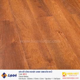 Sàn gỗ Janmi ME12 Classic Merbau | 12mm bản nhỏ